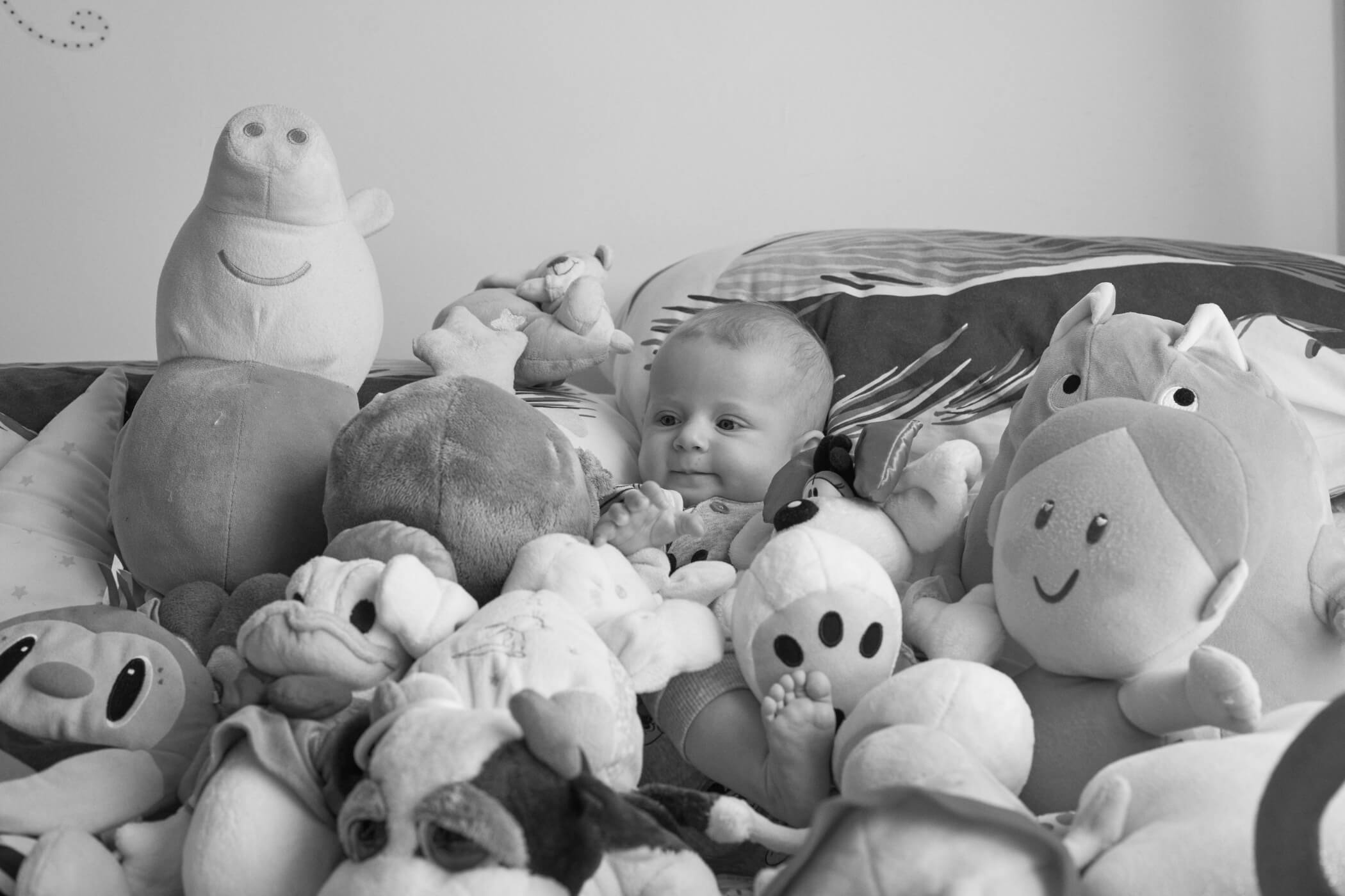 fotografía newborn at home