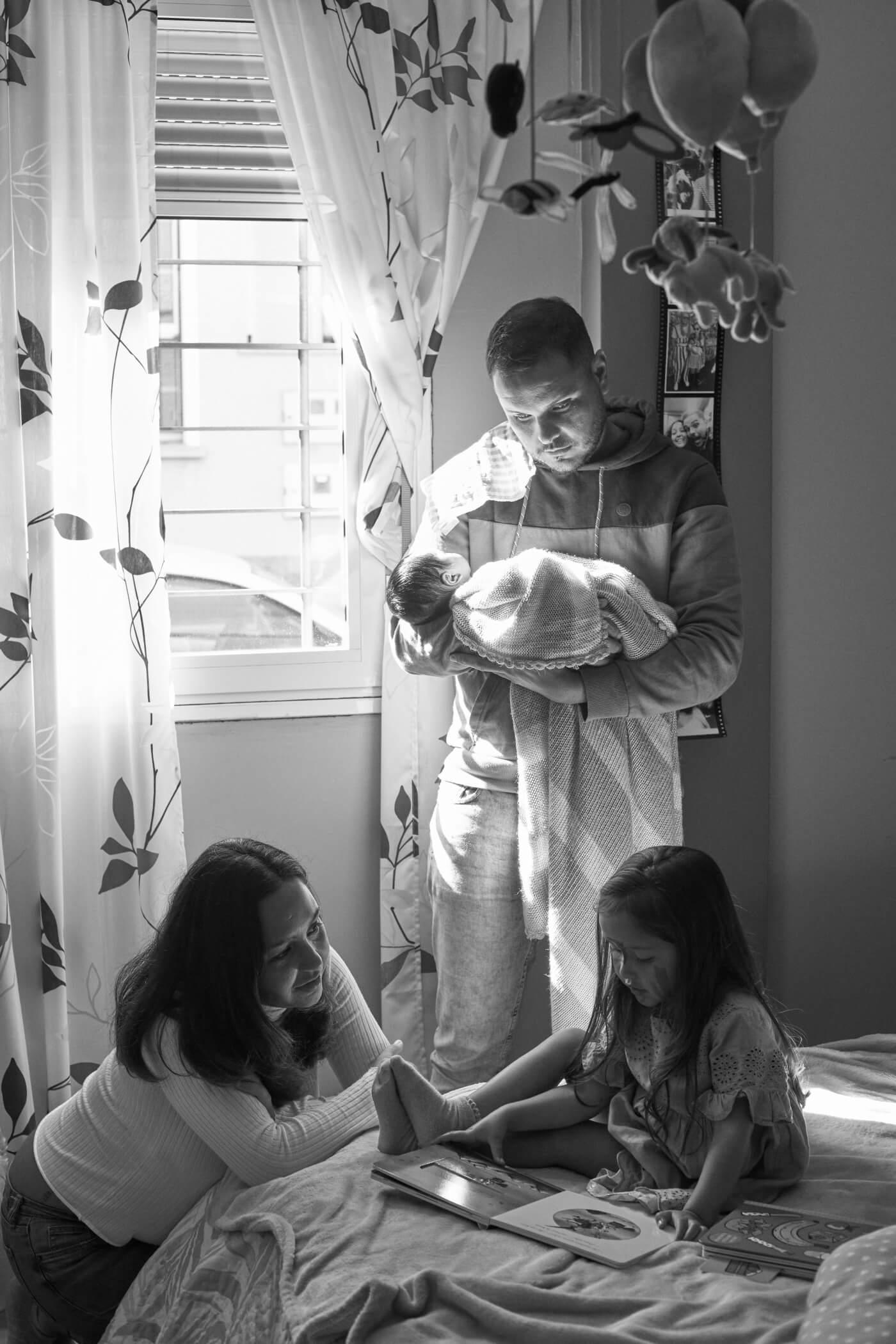 fotografía familia