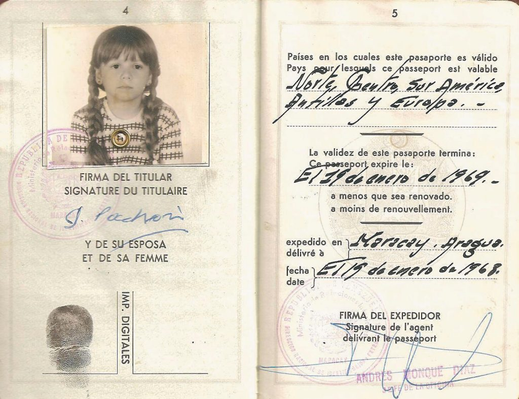 Pasaporte - interior libro Atlanticidad